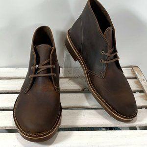 Clarks Men's Bushacre 2 Chukka Boots Leather